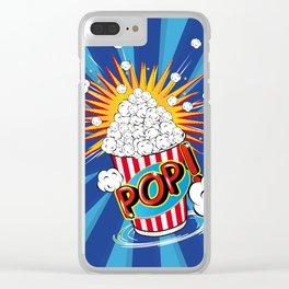 Popcorn - POP! - Clear iPhone Case