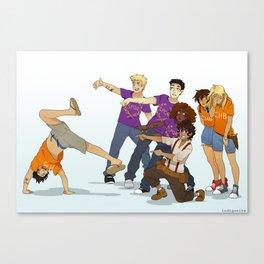 Demigod Squad Canvas Print