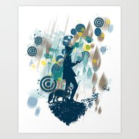le petit prince Art Prints featuring le petit prince 2010 by frederic levy-hadida