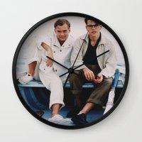 ripley Wall Clocks featuring TALENTED MR. RIPLEY by VAGABOND
