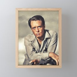 Patrick McGoohan, Actor Framed Mini Art Print