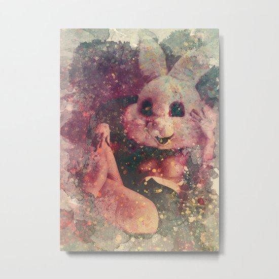 BunnyGirl1 Metal Print