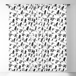 Barnacle goose pattern Blackout Curtain