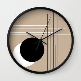 Crossover - Lines and Curves - Set 2 Wall Clock