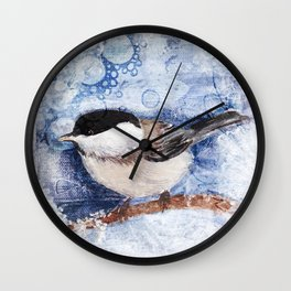 A winter's day Wall Clock