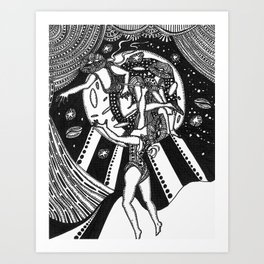 Three Stages  Art Print