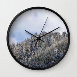 Quintessential Pacific Northwest Pt. 2 Wall Clock