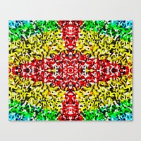 cross Canvas Prints featuring Cross by Bruce Stanfield