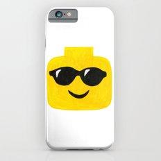 Sunglasses - Emoji Minifigure Painting Slim Case iPhone 6s