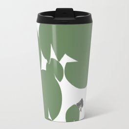 Summer fish pond with lily pads Travel Mug