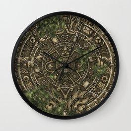 Past future culture. Wall Clock