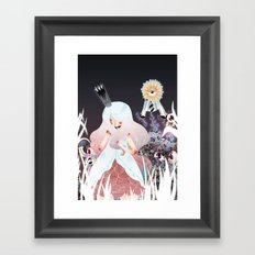 White Queen Framed Art Print