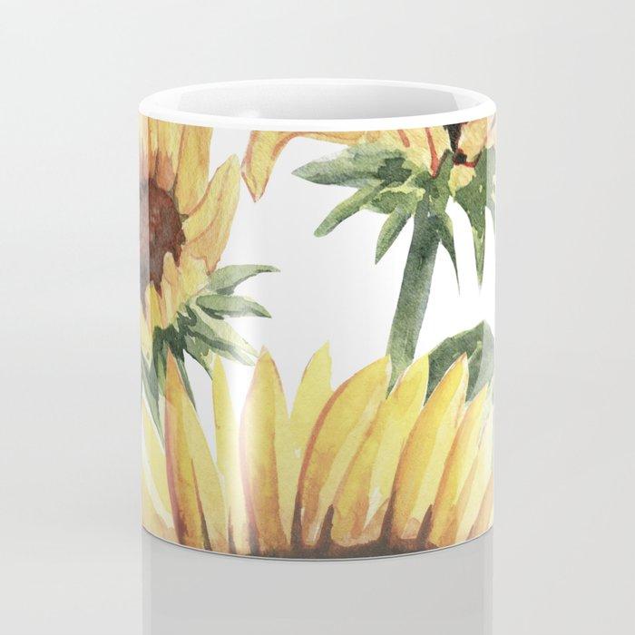 Sunflowers and Honey Bees Coffee Mug