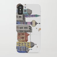 europe iPhone & iPod Cases featuring Exploring Europe by Maxine Hughes