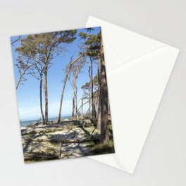 Beach Day At The Baltic Sea Stationery Cards