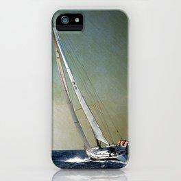 sailing race iPhone Case