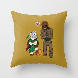 The Legend of Zelda :: Dancing Redead Throw Pillow