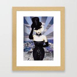 ARTPOP Ocean Collage Framed Art Print