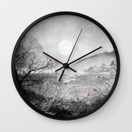 The red sounds and poems, Chapter II Wall Clock