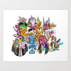 CREETURS Art Print