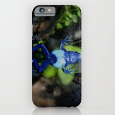 Poison Dart Frog Belly- Dendrobates Azureus iPhone 6s Slim Case