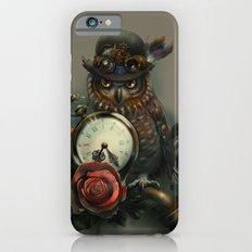 Sir Owl. Steampunk iPhone 6s Slim Case