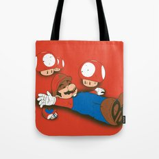 Tragic Ending-red Tote Bag