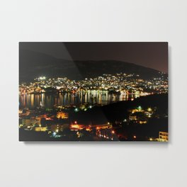 A Night View to the Bay Metal Print