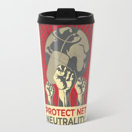 Protect Net Neutrality Travel Mug