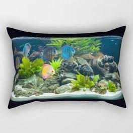 Aquarium fishes  Rectangular Pillow