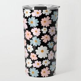 cute floral pattern Travel Mug