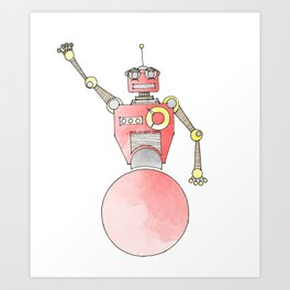 Rolly-Bot 2000 Art Print