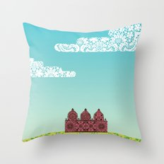 Chantily Castle I Throw Pillow
