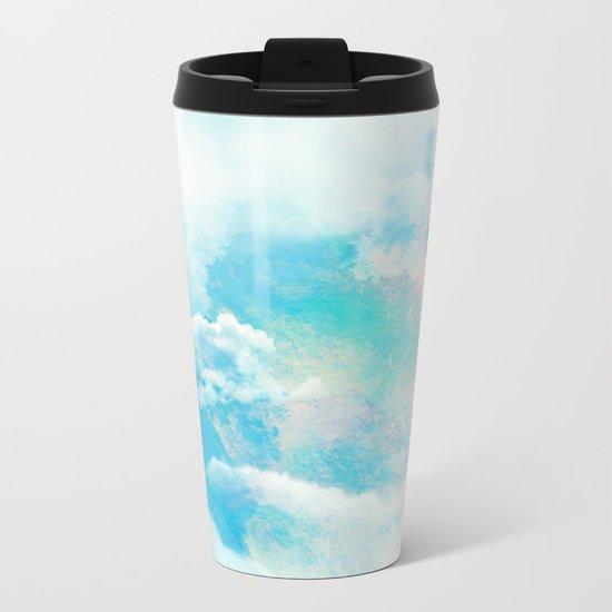 Spring Sky Metal Travel Mug