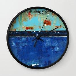 Dress Blues Wall Clock
