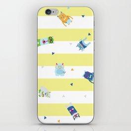 Geek Monsters iPhone Skin