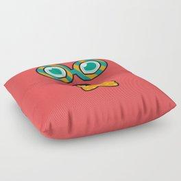 Monsticky Red Floor Pillow