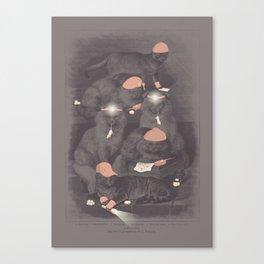 Neighborhood Watch (At Dawn) Canvas Print