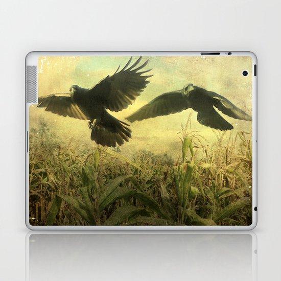 Crows Of The Corn Laptop & iPad Skin