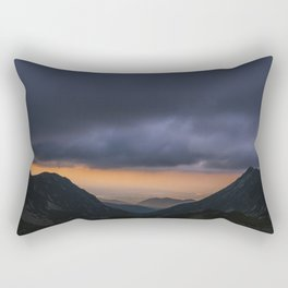 Sunset is my favorite color Rectangular Pillow