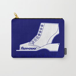 Borosana Borovo -  white nostalgic ortopedic shoe from Yugoslavia Carry-All Pouch