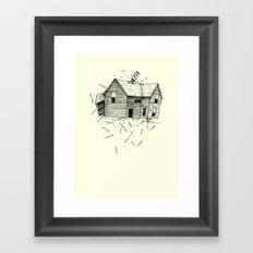 home blown Framed Art Print