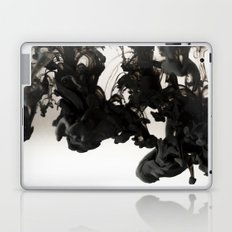 Abstract Black Ink in Water Laptop & iPad Skin