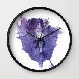 Allie's Vagina Monotype No.2 Wall Clock