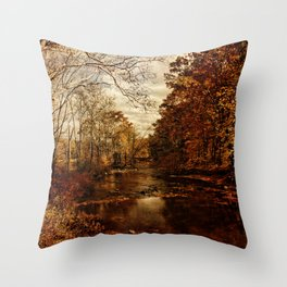 Ecstasy at the Stream Throw Pillow
