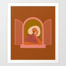The Daydreamer Art Print