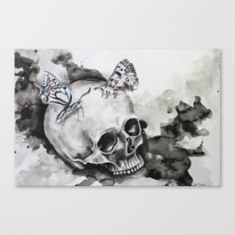 Poor Yorick Canvas Print