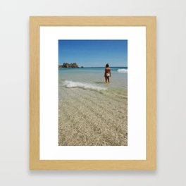 Look Out Point Framed Art Print