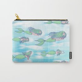 Mermaids dream by day Carry-All Pouch