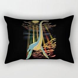 Loch Ness Plesiosaur  Rectangular Pillow